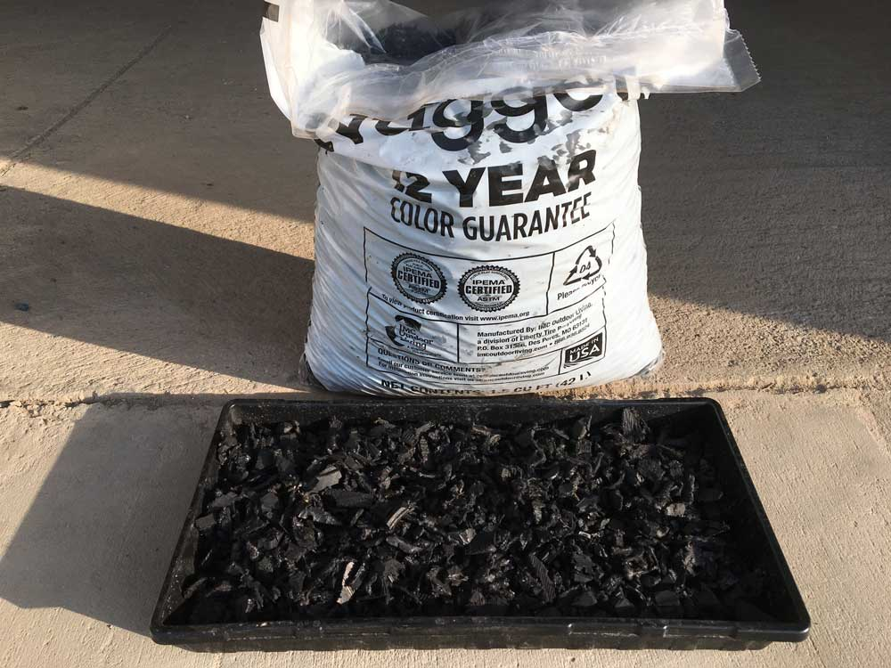 Black Rubber Nuggets